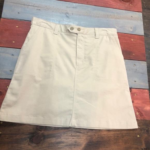 Lands' End Dresses & Skirts - 🎉3/$35 Lands End Khaki Skirt